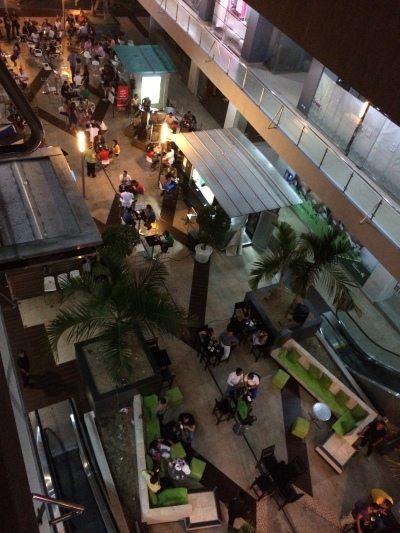 View from above at Bella Terra Mall