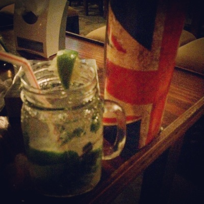 Mojitos at Queen Elizabeth