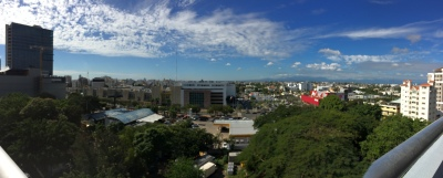 A view of Santo Domingo