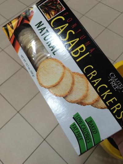 Cassava Crackers
