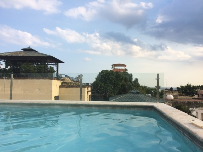 Rooftop Pool at Hotel Billini