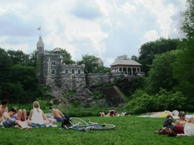 Belvedere Castle from the Great Lawn