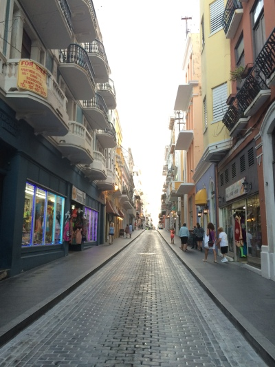 The streets of Viejo San Juan