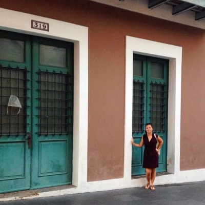 On the streets of Old San Juan