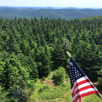 The view from the Fire Tower