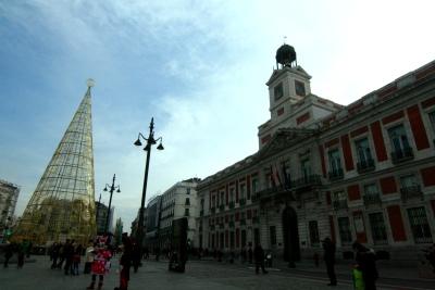 Plaza del Sol in Madrid