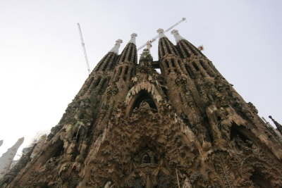 La Sagrada Familia Cathedral in Barcelona