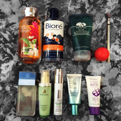 My daily beauty products