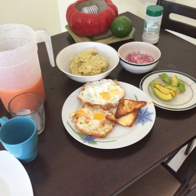 Dominican breakfast