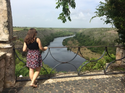 Overlooking the Chavon River