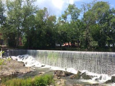 Waterfall off Main Street in Beacon