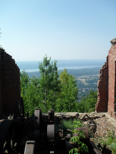 View from the Incline Railroad Site on Mount Beacon