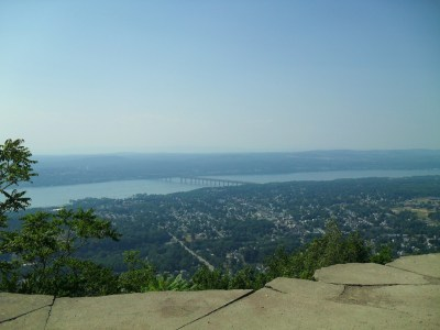 View from Mount Beacon over the Hudson River