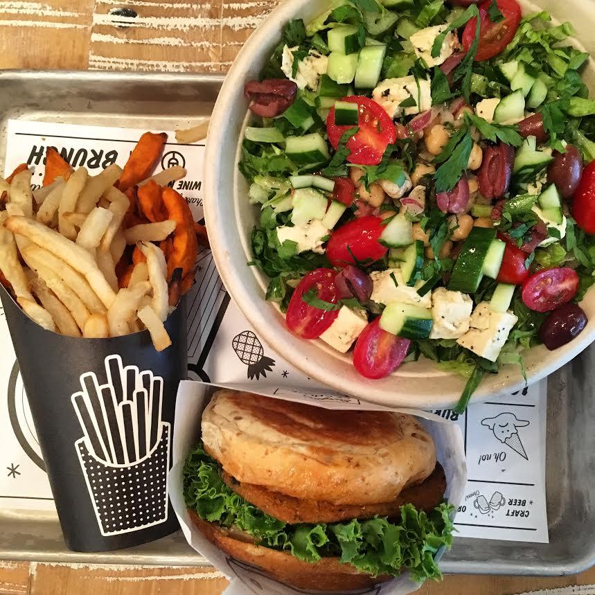 Salad at by Chloe